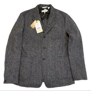 Rag & Bone New York - St. Regis Designer Luxury Wool Casual Jacket - Brand New